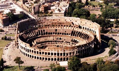 The Roman Colosseum