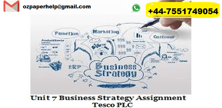 Unit 7 Business Strategy Assignment Help