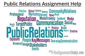 Part-3 Public Relations Assignment Help