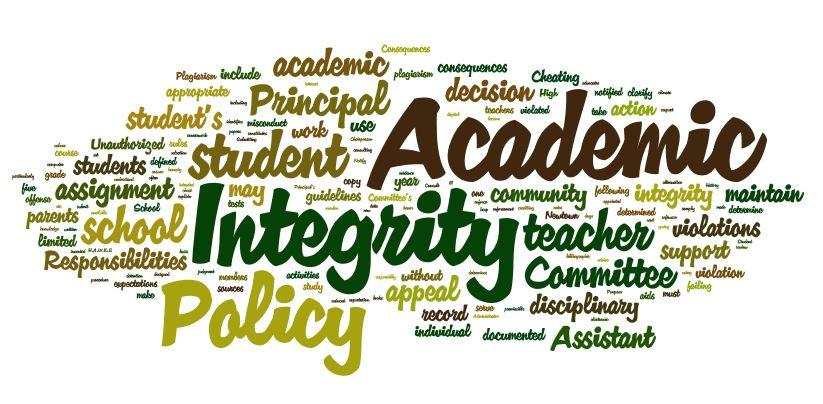 Report Highlighting Academic Integrity