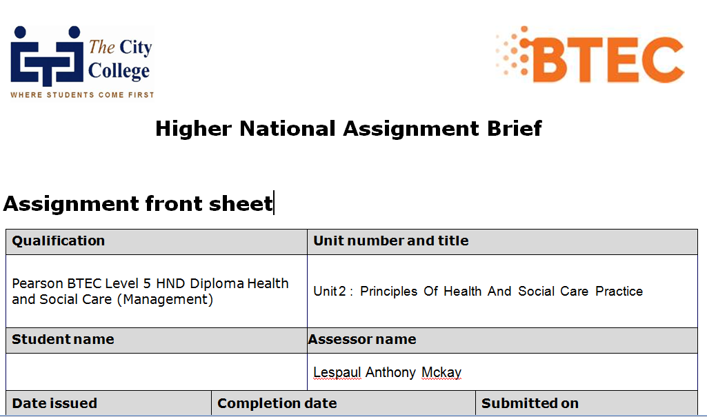 unit 1 assignment 2 health social P5 m2 d2 health essays and research papers 1/4/15 unit assignment number valid evidence for the btec subsidiary diploma in health & social care unit 21 : outcomes 1 & 2 understand concepts of nutritional health and know the characteristics of nutrients.