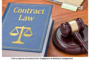 Business Law Contract Assignment