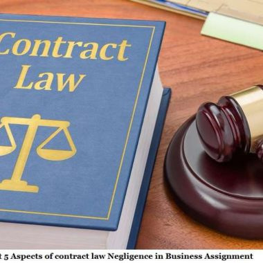Assignment Contract Law