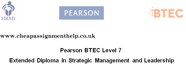 Extended Diploma In Strategic Management And Leadership