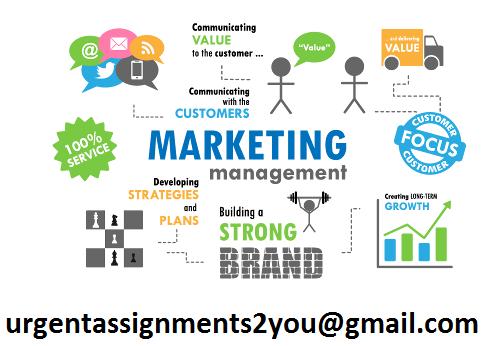 Marketing Management Assignment Help UK