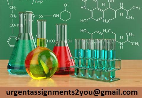 Chemistry Coursework Help