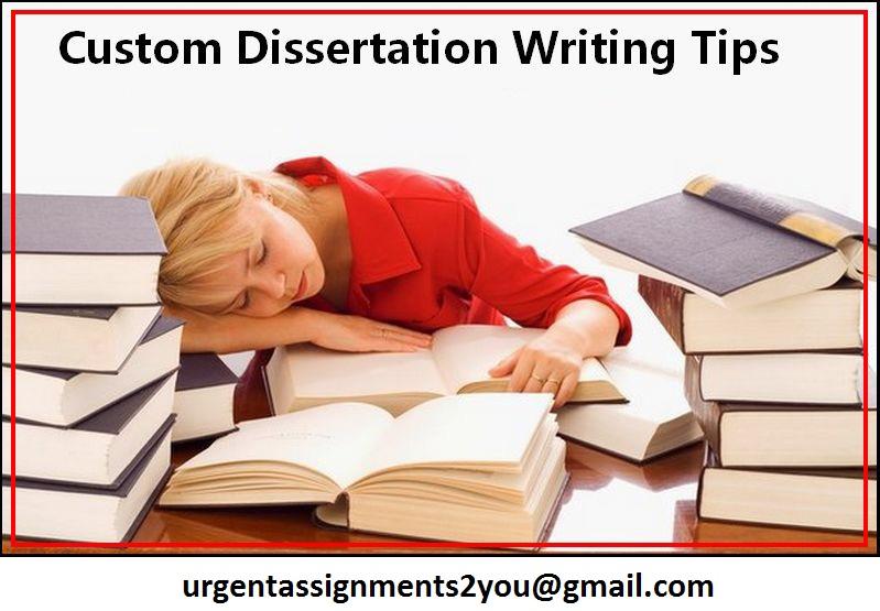 Custom Dissertation Help