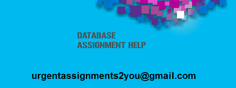 Database assignment help UK