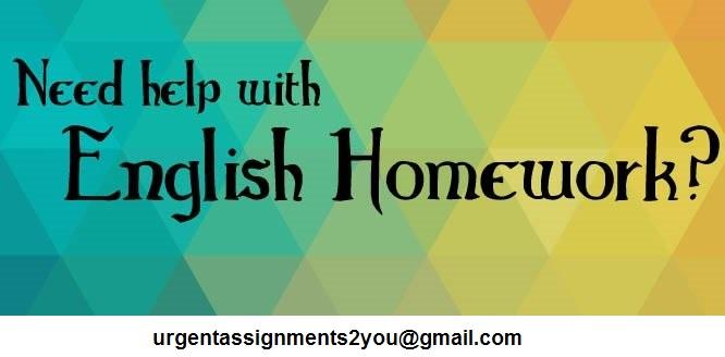 English Homework Help UK