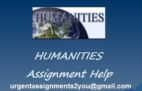 Humanities Assignment Help UK