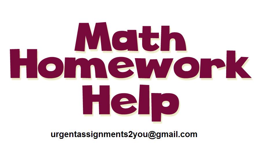 Math Homework Help UK
