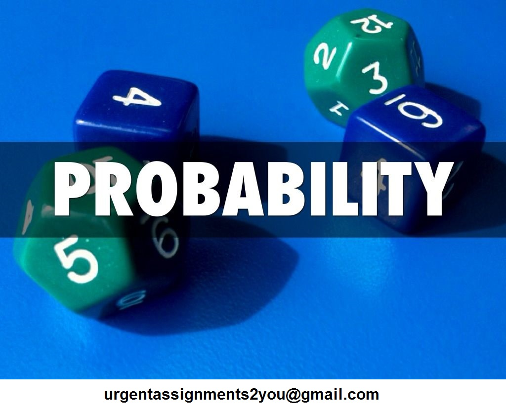 Probability assignment help UK