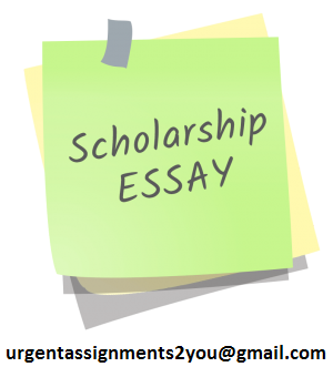 Help on scholarship essay