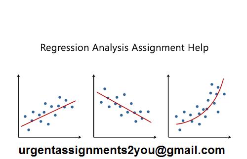 regression analysis assignment help UK