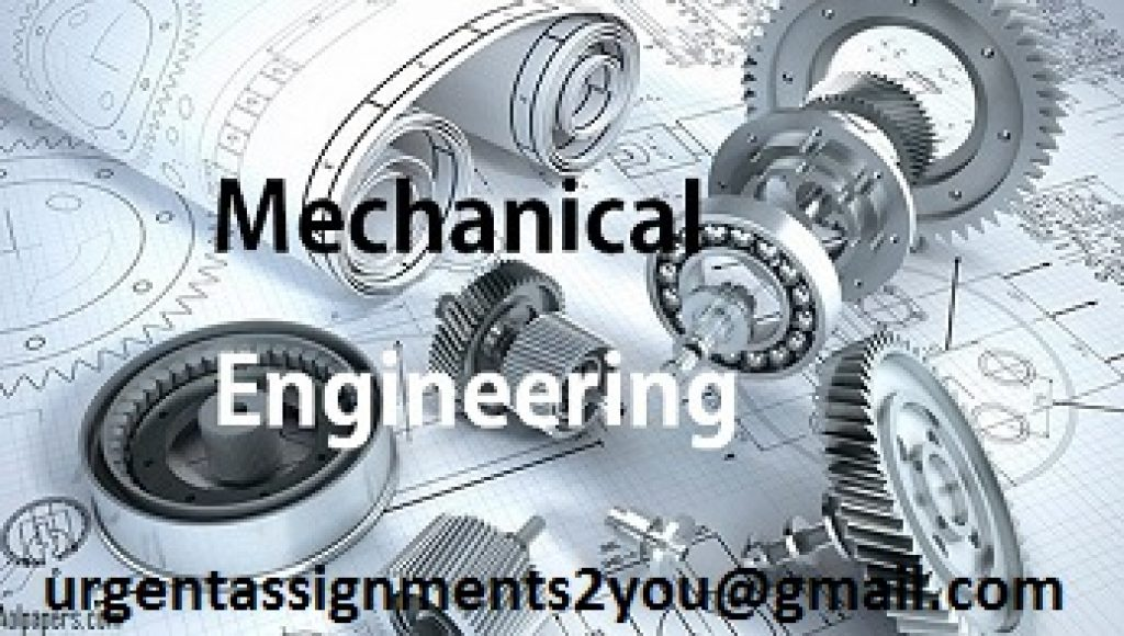 Working mechanical engineering homework help