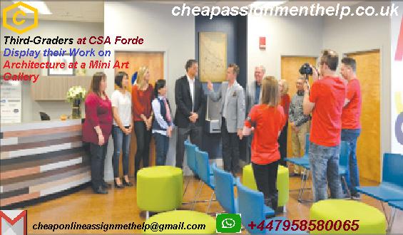 Third-Graders CSA Forde Display