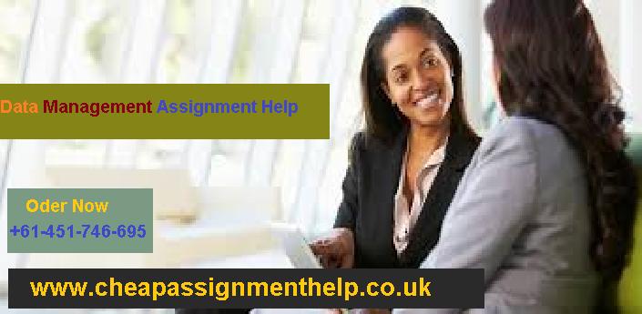 Data Management Assignment Help