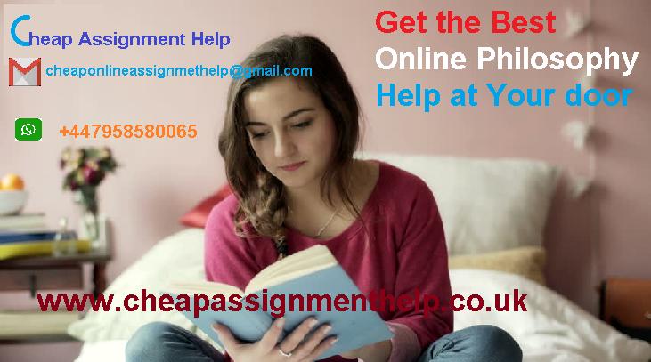 Get the Best Online Philosophy Help at Your door