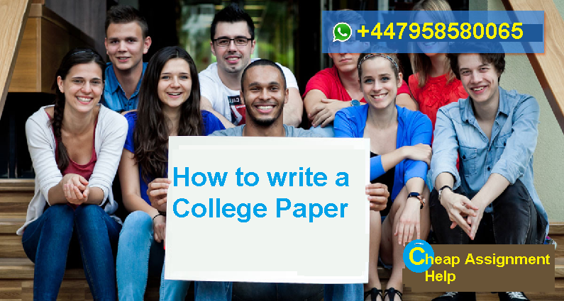 How to write a College Paper