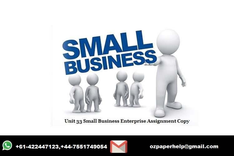 Unit 33 Small Business Enterprise