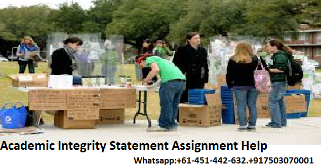 Academic Integrity Statement Assignment Help