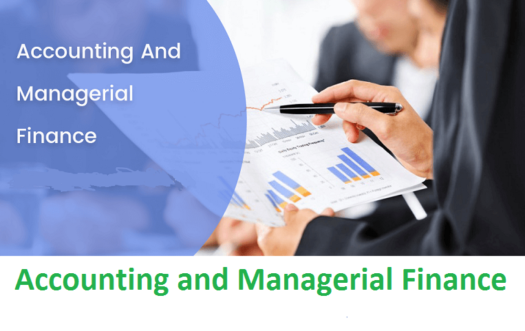 Accounting and Managerial Finance