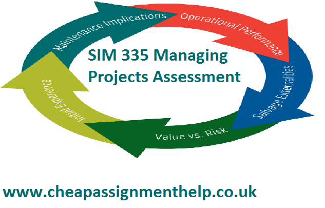 SIM 335 Managing Projects Assessment