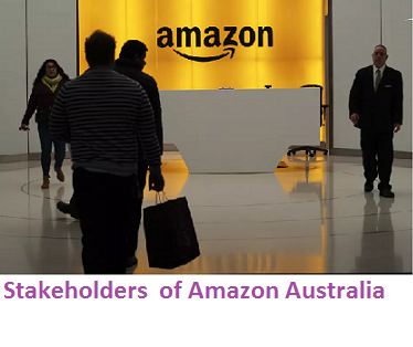 Stakeholdersof Amazon Australia