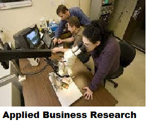 Applied Business Research