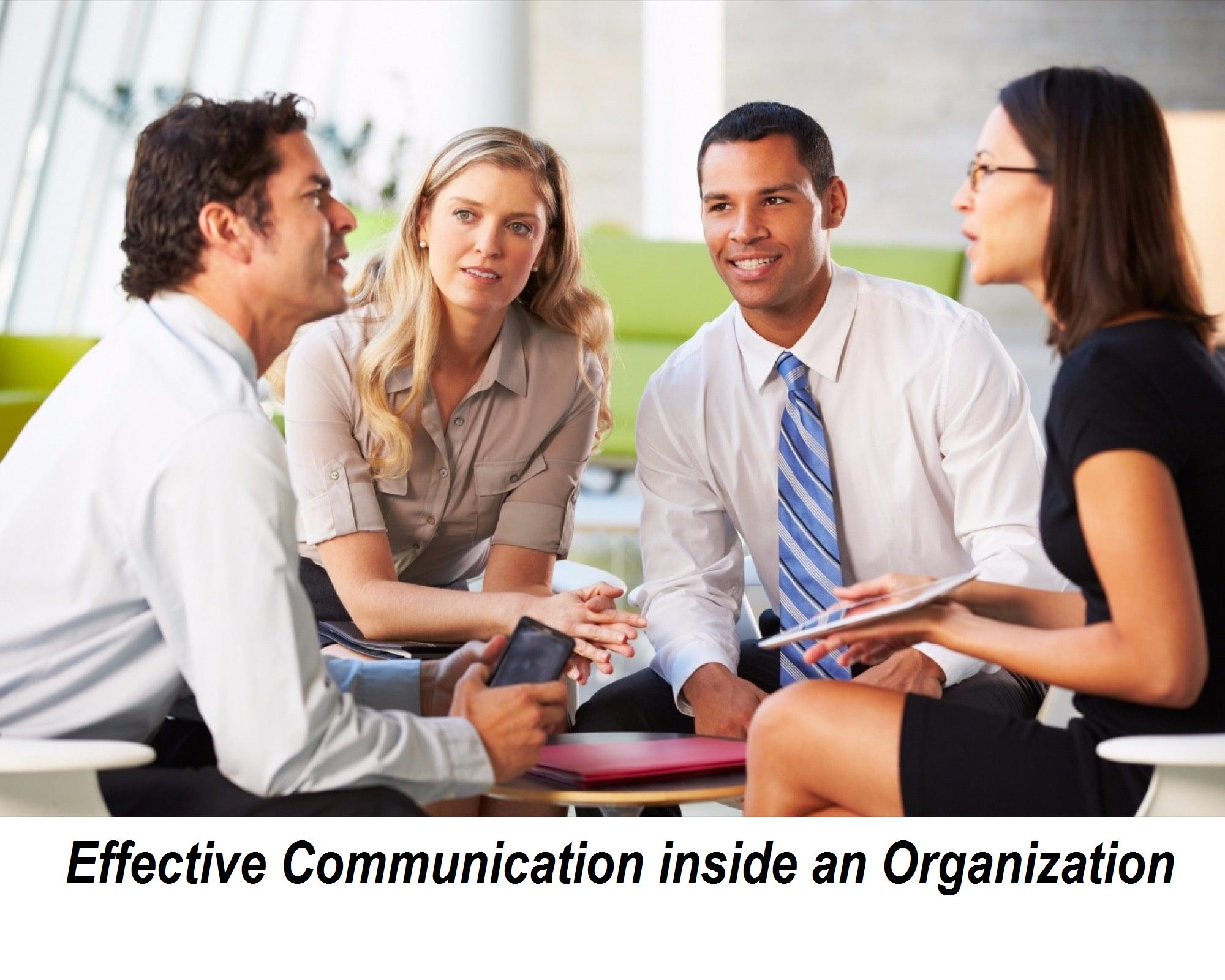 Effective Communication inside an Organization